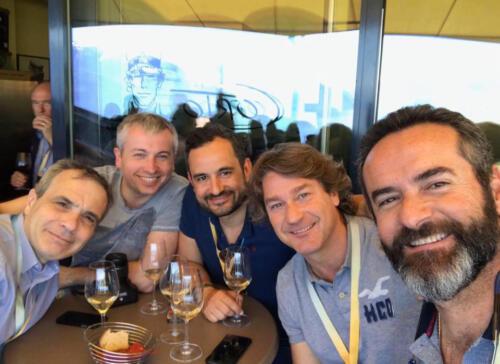 Corto, Franscesco, Max, Adrian, Me