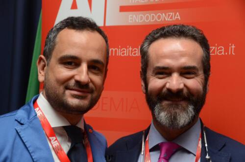 Adrian with Italian Academy of endodontics